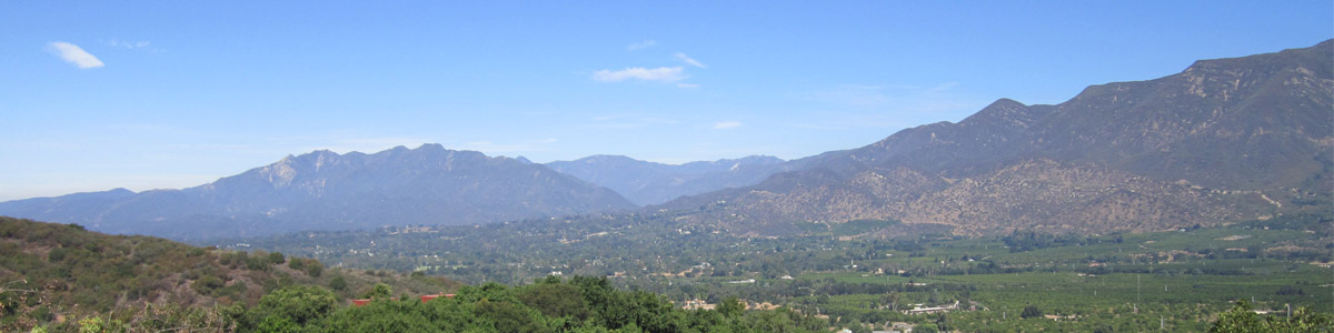 Welcome to beautiful Ojai